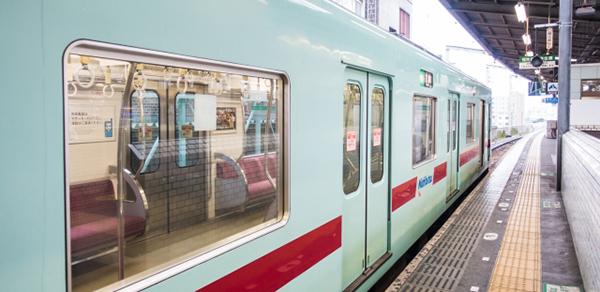 福岡の電車